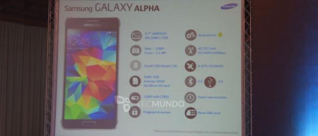 Samsung Galaxy Alpha in Brasilien