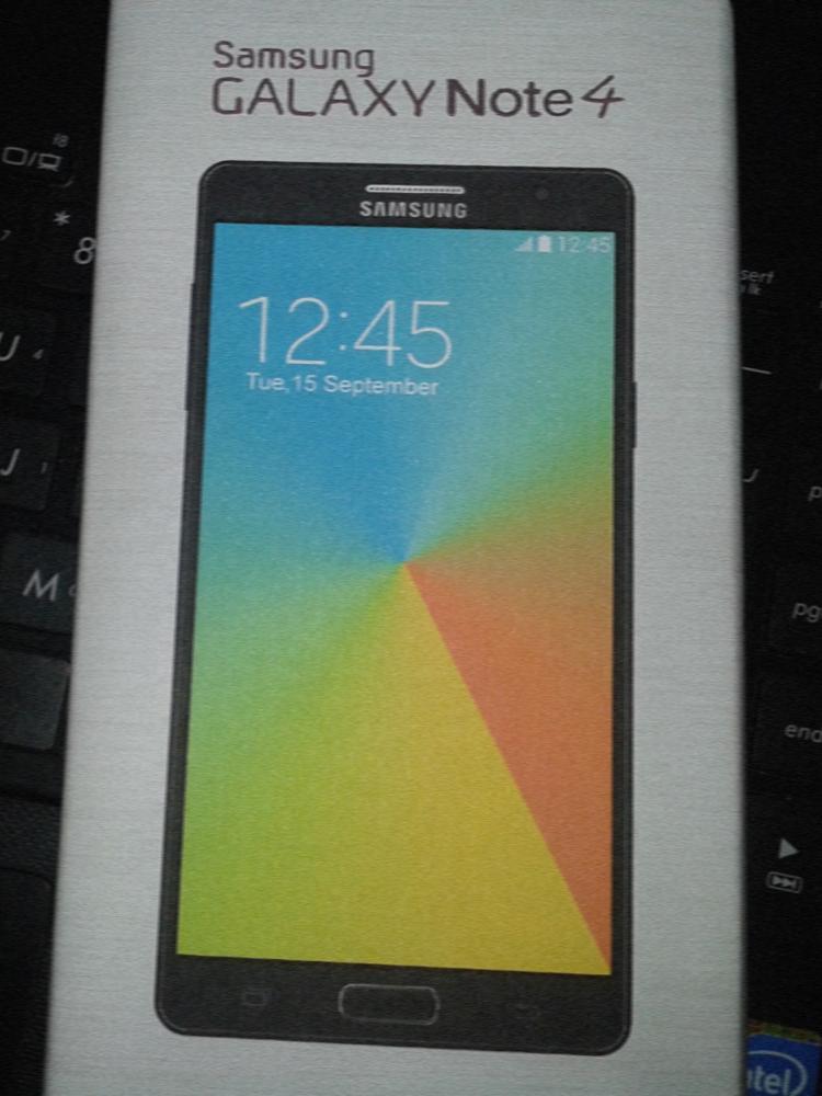 Samsung Galaxy Note 4 Leak