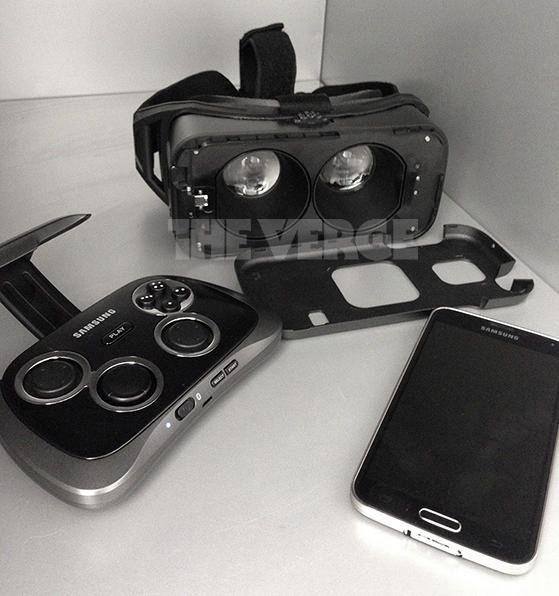 Erstes Foto Der Samsung Gear Vr Aufgetaucht