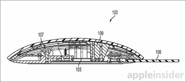 Aplle-Patent für Maus