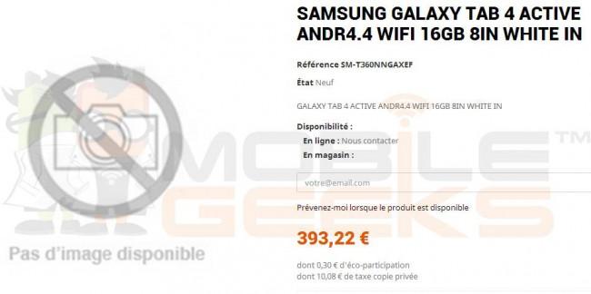 Samsung Galaxy Tab 4 Active Teaser