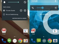 Android L vs. Android KitKat