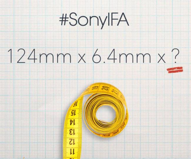 Sony Xperia Z3 Tablet Compact Teaser