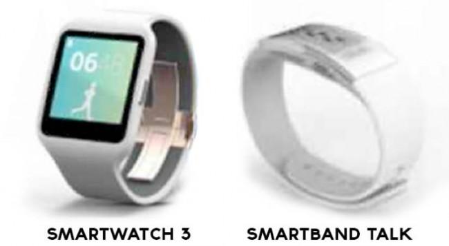 Sony SmartWacth 3 und SmartBand Talk