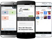 Die Top 5 der gratis Android Internet Browser