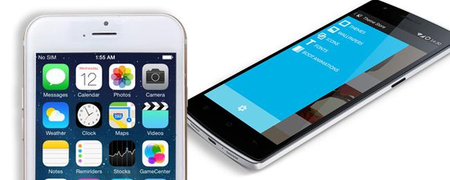 iPhone 6  vs OnePlus One