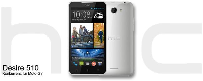 HTC Desire 510 Teaser
