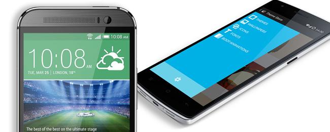 OnePlus One vs. HTC One M8