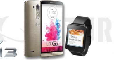 LG G3 kaufen und LG G Watch gratis dazu