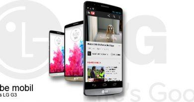 LG G3 und YouTube