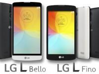 LG L Bello und L Fino: Einsteiger-Smartphones im Design des LG G3