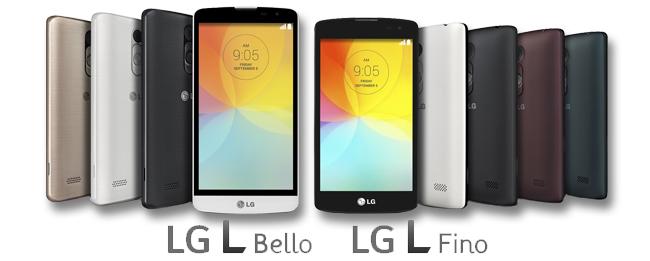 LG L Bello und LG L Fino