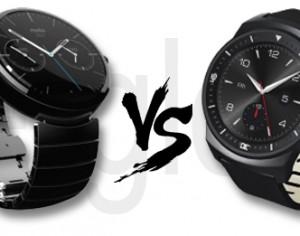Moto 360 vs. LG G Watch R: Kampf der runden SmartWatches!
