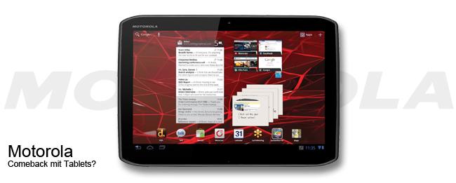 Motorola Tablets in 2015