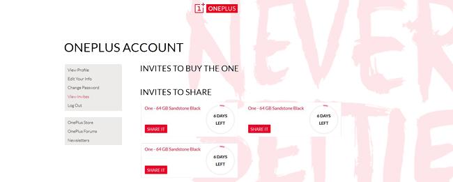 OnePlus One Invite Gewinnspiel