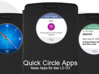 Quick Circle Apps: Neues für das LG G3 Quick Circle Case