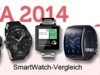 Pre-Versus der IFA 2014 Android Uhren: Wer hat die beste SmartWatch?