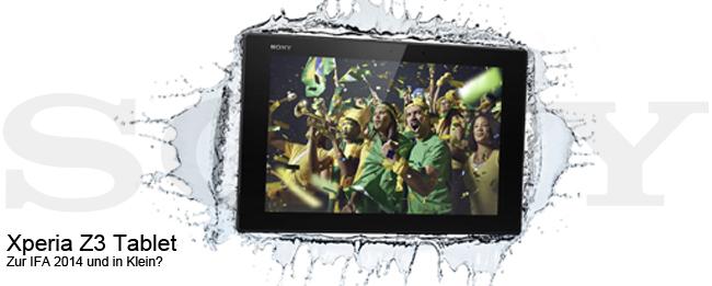 Sony Xperia Z3 Tablet Teaser