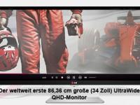 [Test] LG 21:9 UltraWide-QHD-Monitor 34UM95 – Darf es etwas breiter sein?