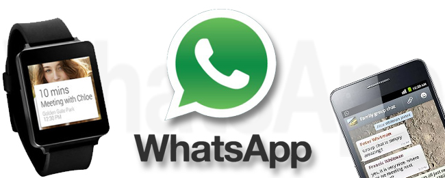 WhatsApp mit Android Wear