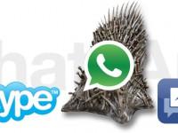 WhatsApp stößt den Facebook Messenger vom Thron