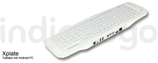 Xplate Android Tastatur