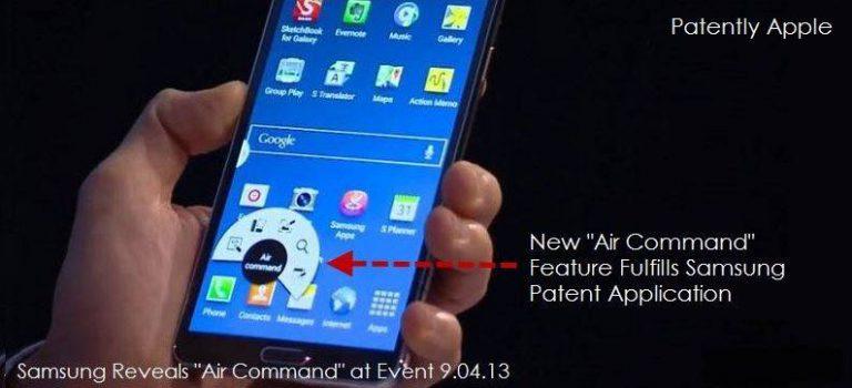 Rundes Kontextmenü als Apple-Patent