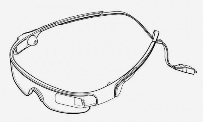 Samsung Gear Blink relevantes Patent