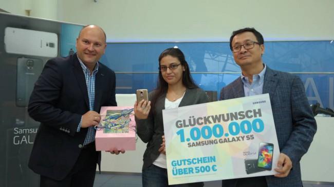 Samsung Galaxy S5 Meilenstein