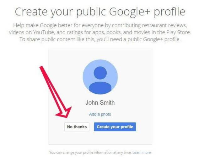Google ohne Google+ Profil