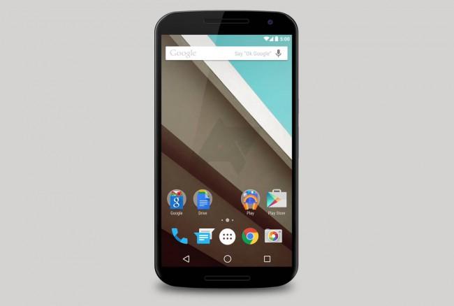 Nexus 6 Rendering