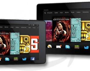 Für Einsteiger: Amazon Kindle Fire HD 6 und Fire HD 7