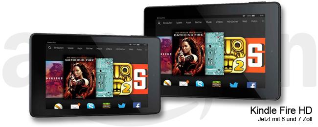Amazon Kindle Fire HD 6 und HD 7