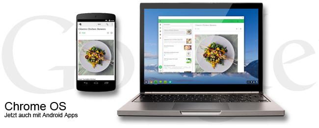 Android Apps in Chrome OS