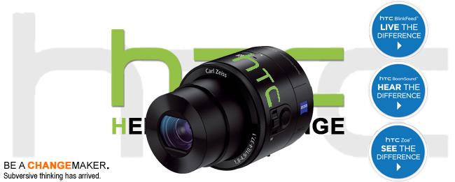 HTC Aufsteck-Kamera