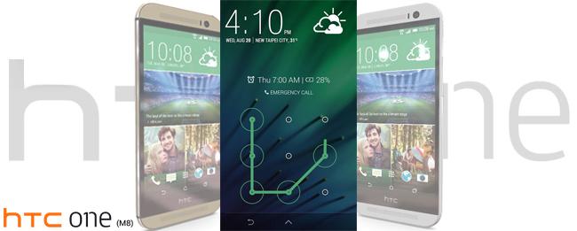 HTC Lockscreen von Sense 6