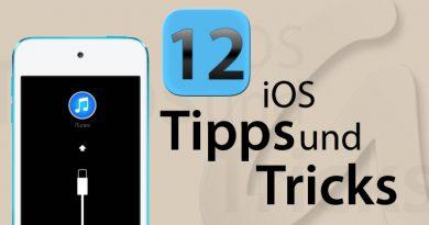 Von iOS8 zurück auf iOS7