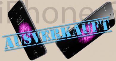 iPhone 6 ausverkauft