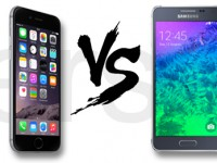 Samsung Galaxy Alpha vs. Apple iPhone 6