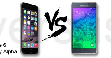 iPhone 6 vs. Samsung Galaxy Alpha