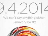 Lenovo Vibe X2: IFA-Teaser mit Apple-Anspielung
