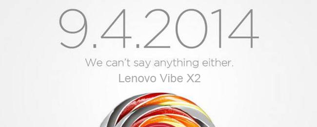 Lenovo Vibe X2 IFA-Teaser