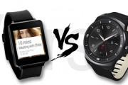 LG G Watch vs. LG G Watch R