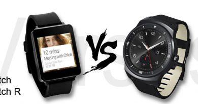LG G Watch vs LG G Watch R