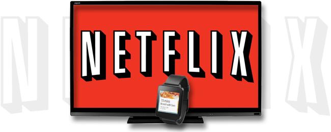 Netflix mit Android Wear