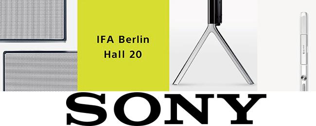 Sony Pressekonferenz auf der IFA 2014