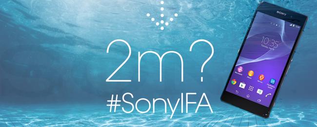Sony Unterwasser-Teaser