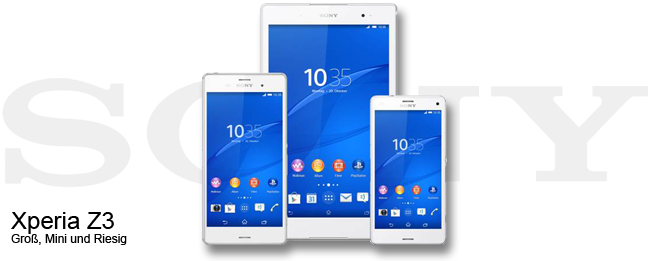 Sony Xperia Z3 und Android 5.0 Lollipop
