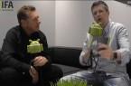 [Video] KAZAM Thunder 350 L im IFA 2014 Interview mit Gratis Displaytausch!