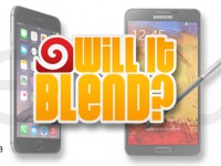"Samsung Galaxy Note 3 vs. iPhone 6 Plus bei ""Will it Blend?"""